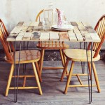 How to make a rustic-vintage table with pallet boards