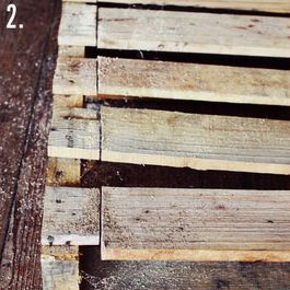 How to make a rustic-vintge table with pallet boards (5)