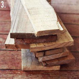 How to make a rustic-vintge table with pallet boards (6)
