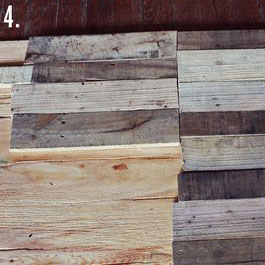 How to make a rustic-vintge table with pallet boards (7)