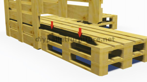 Instructions and 3D plans of how to make a sofa for the garden with pallets6
