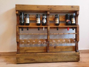Instructions of how to make a wooden wine rack with pallets (2)