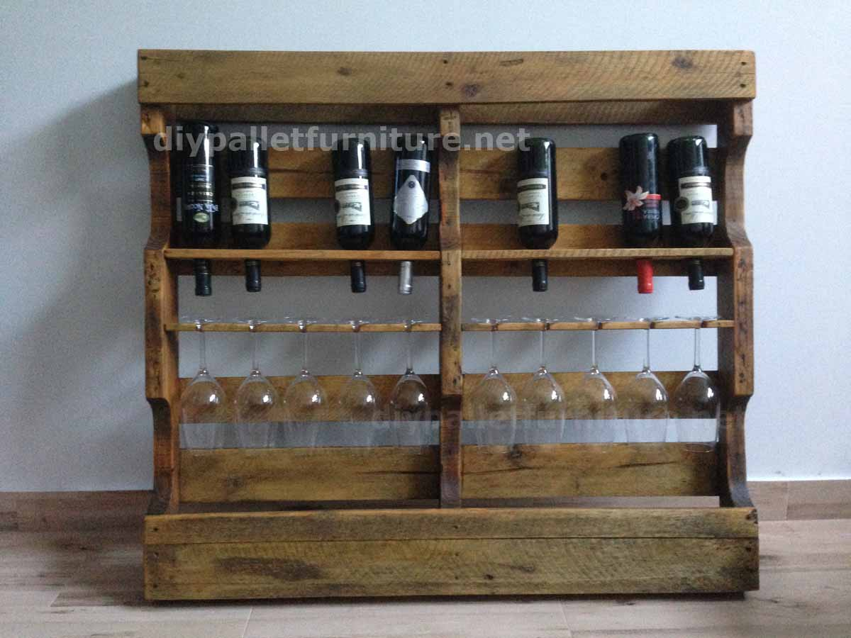 Instructions Of How To Make A Wooden Wine Rack With