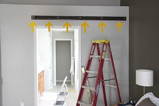 Instructions On How To Make A Sliding Door With Palletsdiy