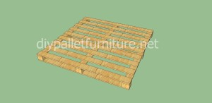 Kindergarten made ​​with pallets and plans of the process (5)