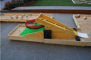 Minigolf made ​​with pallets 4