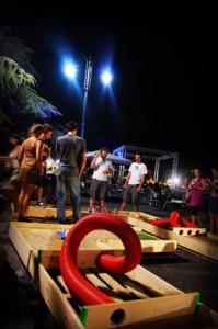 Minigolf made ​​with pallets 7