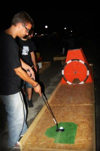 Minigolf made ​​with pallets 9