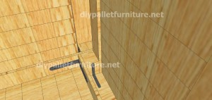 Plans and  video of how to make a house with pallets ( 2 of 3) (10)