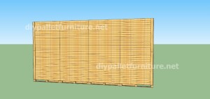 Plans and  video of how to make a house with pallets ( 2 of 3) (14)