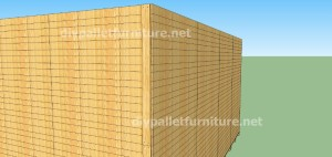 Plans and  video of how to make a house with pallets ( 2 of 3) (15)