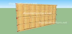 Plans and  video of how to make a house with pallets ( 2 of 3) (17)