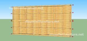 Plans and  video of how to make a house with pallets ( 2 of 3)