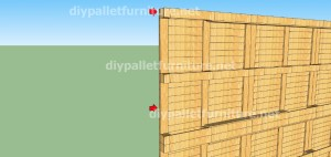 Plans and  video of how to make a house with pallets ( 2 of 3) (5)