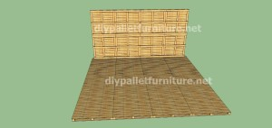 Plans and  video of how to make a house with pallets ( 2 of 3) (6)