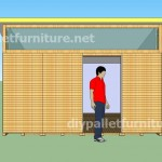 Plans and video of how to make a house with pallets ( 3 of 3)