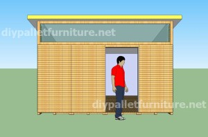Plans and video of how to make a house with pallets ( 3 of 3) 1