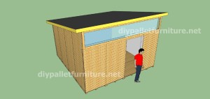Plans and video of how to make a house with pallets ( 3 of 3) 11