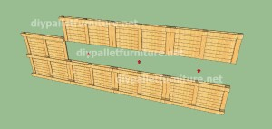 Plans and video of how to make a house with pallets ( 3 of 3) 2