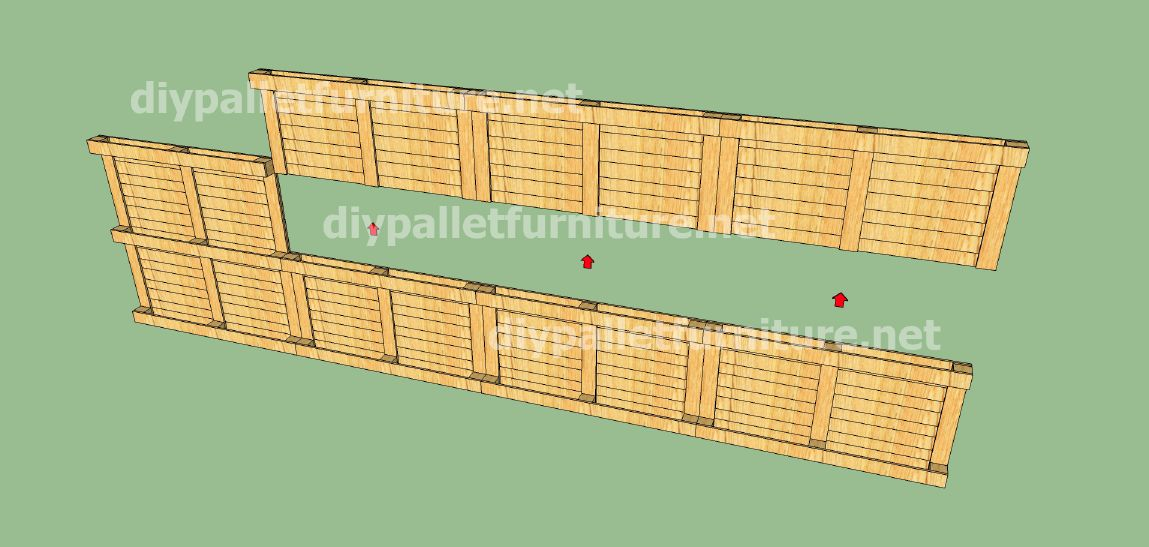 Plans And Video Of How To Make A House With Pallets 3 Of