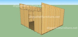 Plans and video of how to make a house with pallets ( 3 of 3) 4