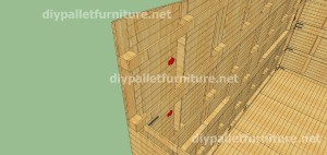 Plans and video of how to make a house with pallets ( 3 of 3) 5