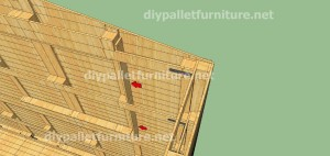 Plans and video of how to make a house with pallets ( 3 of 3) 6