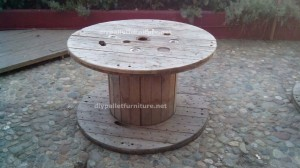 Tables made ​​of pallets at the Belgrado Cafe (6)