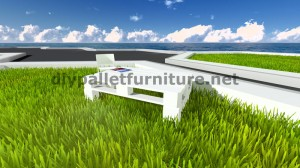 Cool table with only 2 pallets 8