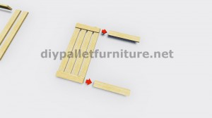 Instructions of how to make a lamp with wooden pallets 4