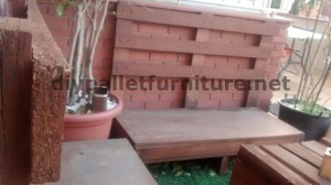 Sofa and table for the terrace made ​​with pallets 5