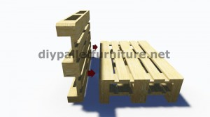Step by Step instructions and plans of how to make a sofa with pallets easily 4