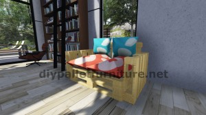 Step by Step instructions and plans of how to make a sofa with pallets easily 8