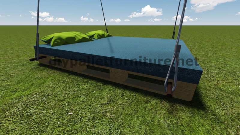 Step by step instructions of how to make a hanging bed for How to make a hanging bed