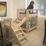 Bunkbeds for dogs made ​​with pallets!