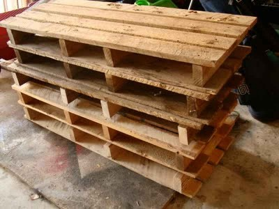 How to make a country cabinet with only three pallets 2