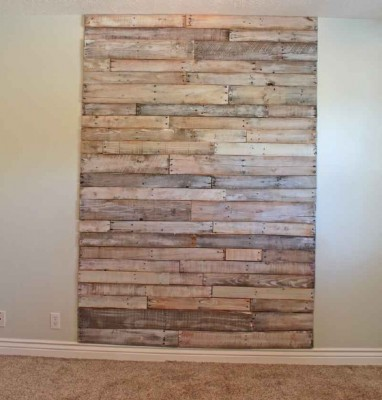 How to make a custom headboard with pallets
