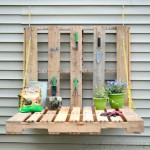 How to make a folding table for the garden