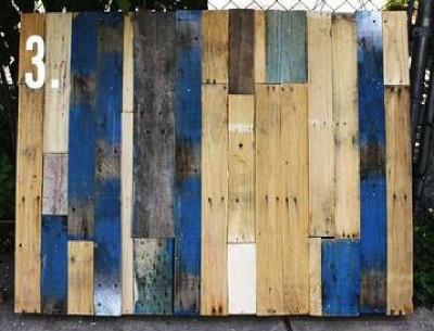 How to make a nice garden with pallets 4