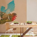 Instructions of how to make a table with pallets for the dinning room