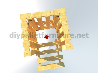 Plans and instructions for making a chair with 4 pallets_10