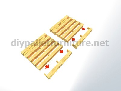 Plans and instructions for making a chair with 4 pallets_3