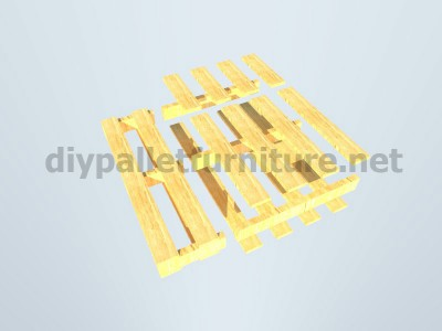 Plans and instructions for making a chair with 4 pallets_7