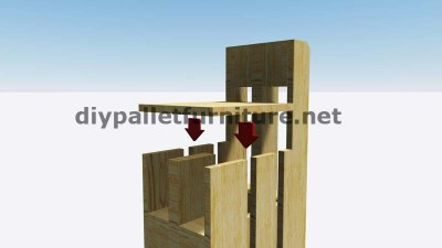 Step by Step instructions of how to make stools with pallets 7