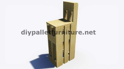 Step by Step instructions of how to make stools with pallets 8