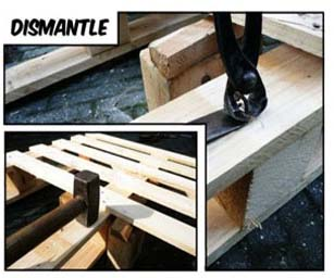 6 basic steps to build your own furniture with pallets 2