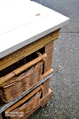 Build your own drawer of two levels hight 2