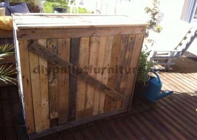 Garden Lounge made with pallets 5