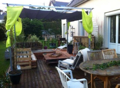 Garden Lounge made with pallets 6