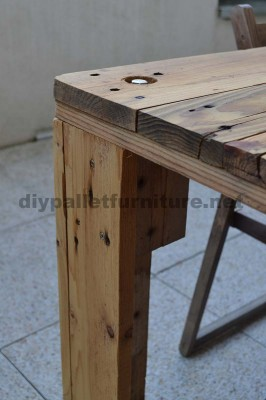 How to easily make a table with a Europallet 4